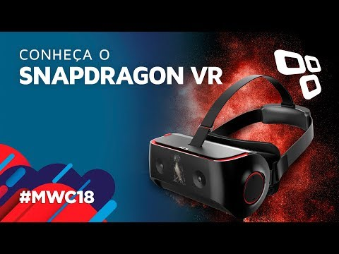 Testamos o óculos de realidade virtual da Qualcomm - TecMundo [MWC 2018]