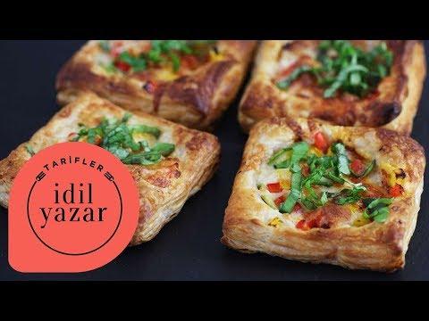 Sebzeli Pratik Pizza Tarifi - İdil Yazar - Yemek Tarifleri