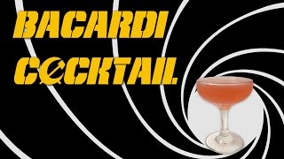 Bacardi Cocktail - A Daiquiri Made With Rum, Lime & Grenadine