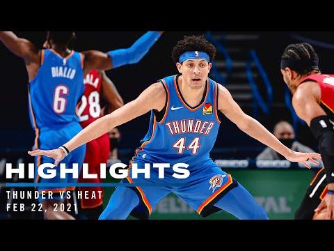 Highlights | Thunder vs Heat