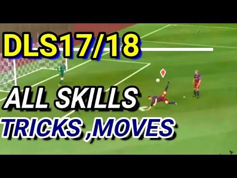 TUTORIAL | ALL NEW SKILL MOVES/SKILLS, MOVES Dream League Soccer 2017 ALL NEW SKILLS, MOVES Tutorial