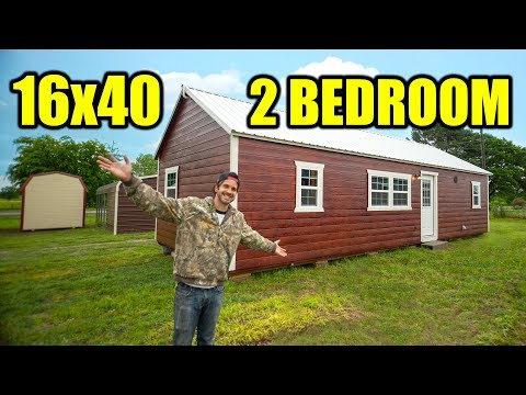 SHED TO HOUSE - Finished 2 bedroom, 1 bathroom