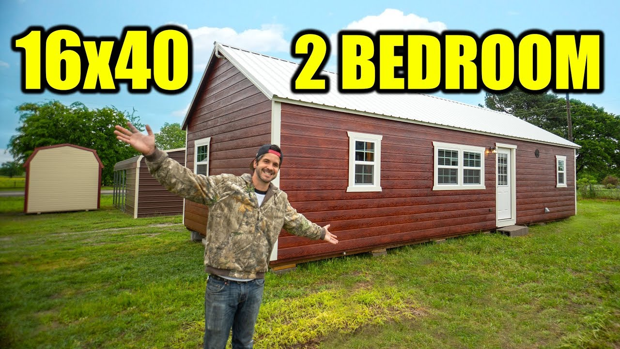 Shed To House Finished 2 Bedroom 1 Bathroom Youtube