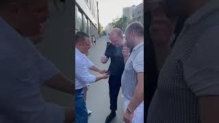 Сергей Бурунов - фокус с сигаретой: жжёт о футболку!