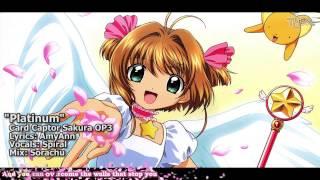 "[新][TYER] English Card Captor Sakura OP3 - ""Platinum"" [feat.Spiral]"