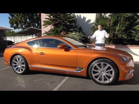 The 2019 Bentley Continental GT Is a $250,000 Ultra-Luxury C