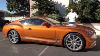 The 2019 Bentley Continental GT Is a $250,000 Ultra-Luxury Coupe