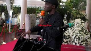 Millardayo atua msibani kwa Mengi: Nilidhani amekasirika / Alianza kuniita yeye