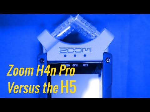 Zoom H4n Pro vs H5 Portable Handy Recorder: Let's Settle