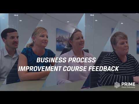 PRIME BPM Business Process Improvement Course Feedback