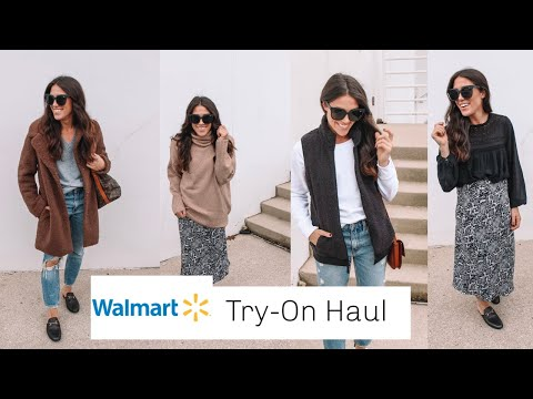Walmart Fall Try-On