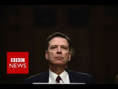 Thumbnail: James Comey: Trump told 'lies, plain and simple' - BBC News