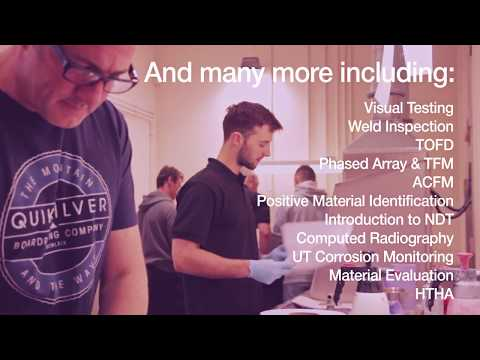 Lavender International | World experts in NDT training courses