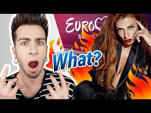 """EUROVISION 2018: CYPRUS Eleni Foureira """"FUEGO""""   MALBERT"""