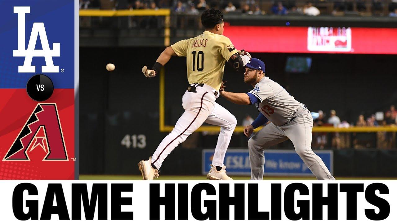Download Dodgers vs. D-backs Game Highlights (9/25/21) | MLB Highlights