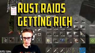 Rust Raids | Getting Rich FAST