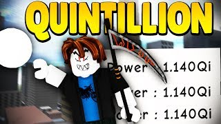 STRONGEST NOOB *QUINTILLION POWER* NOOB DISGUISE TROLL! | Super Power Training Simulator (ROBLOX)