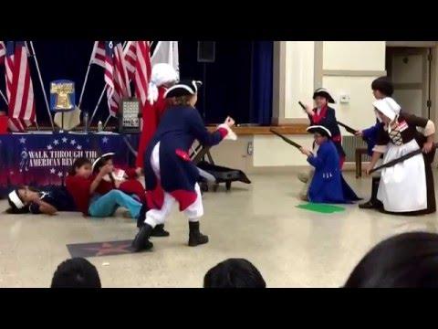 Walk through the American Revolution (Lomita Math Science Technology Magnet School)