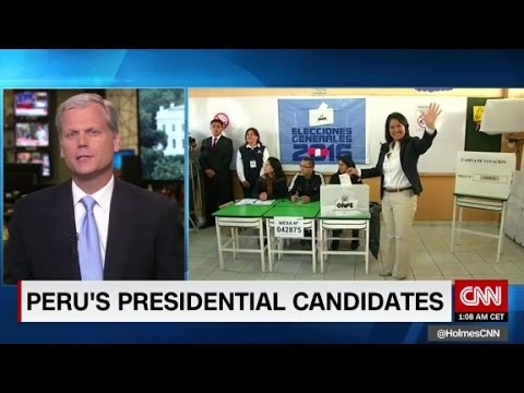 Peruvians vote in presidential elections