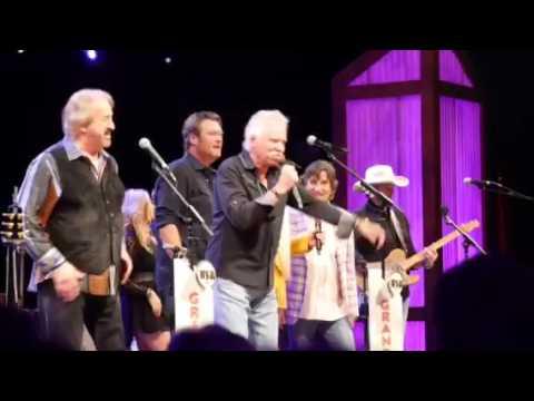 Blake & Oak Ridge Boys Doing It To Country Songs & Elvira