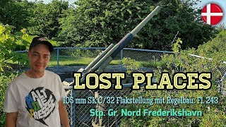 ★ Lost Places (105 mm SK-C Flakstellung with Regelbau Fl. 243│Stp. Gr. North)