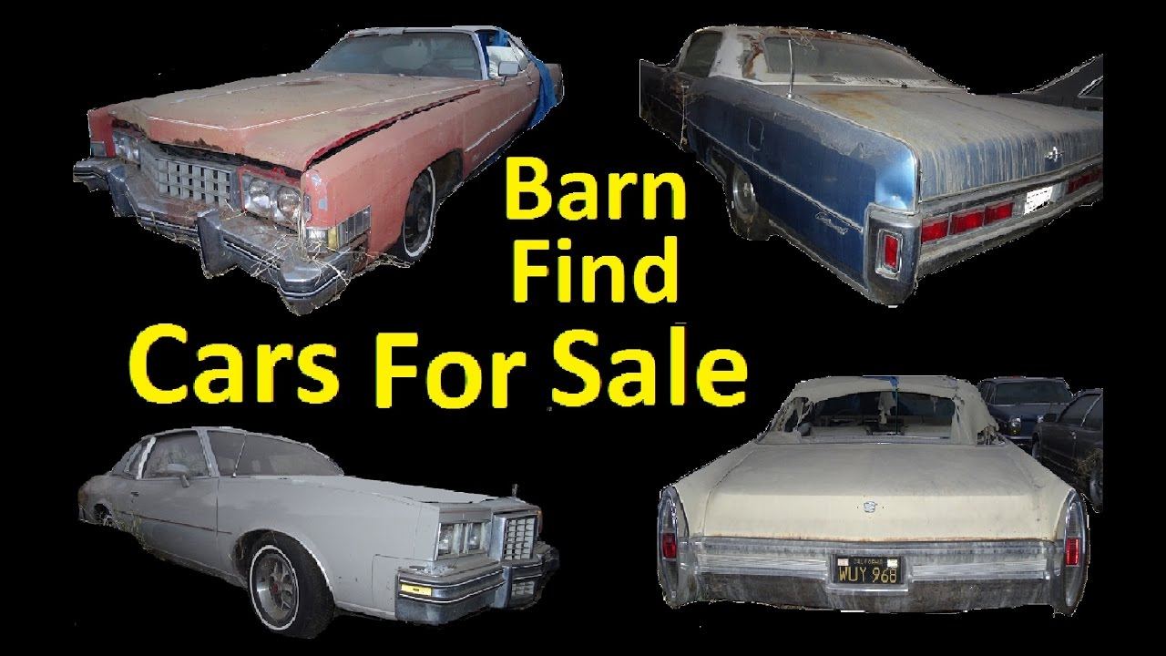 Buy Project Cars in Storage Barn Find Car Clearance For Sale ...