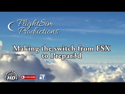FSX to Prepar3d V4.1