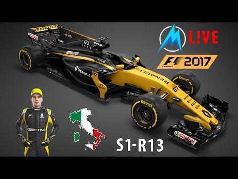 F1 2017 - S01 - R13 - Olasz Nagydíj - Teljes Versenyhétvége