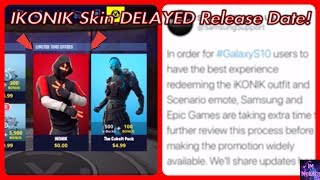 Nouveau - ICONIC Skin DELAYED Date de sortie! Fortnite Bataille Royale