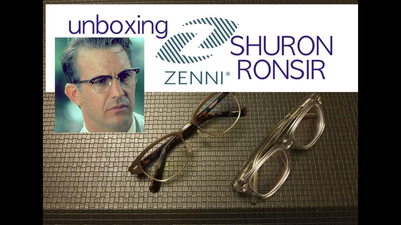 3f56e4e217 Zenni BEYOND UV BLUE make ANY glasses comfortable 445923 199115 Shuron  Ronsir Club Master Review