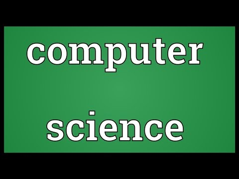 Computer Science Meaning