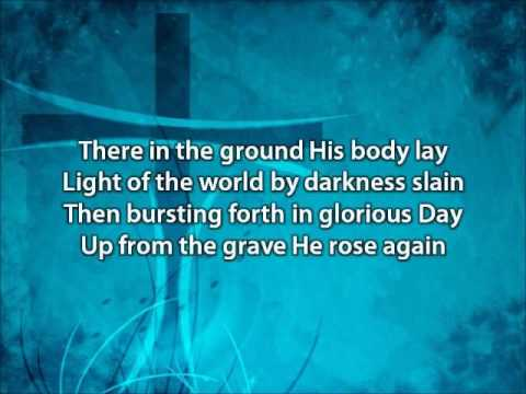 In Christ Alone   Adrienne Liesching and Geoff Moore with lyrics