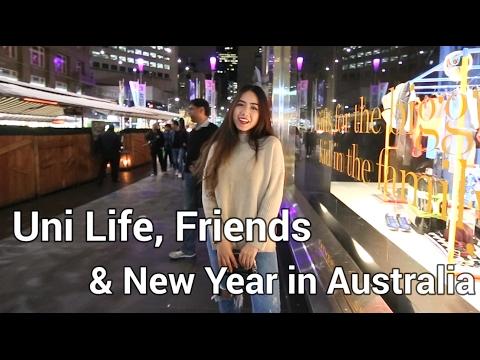 VLOG 5| Uni Life, Friends and New Year in Australia | Du học & Đón Năm Mới Ở Úc