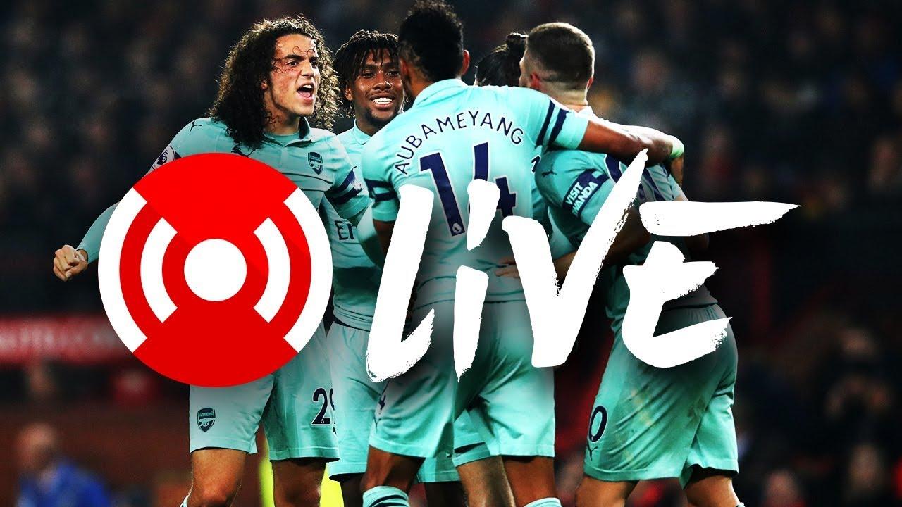 Manchester United 2-2 Arsenal | Arsenal Nation Live: Analysis
