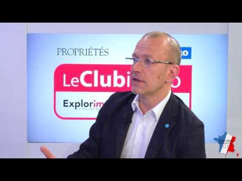 Présidentielle 2017 - Club Immo Mikael Sala, président du collectif Croissance Bleu Marine