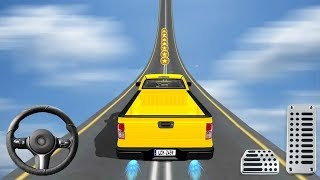 4x4 Jeep Car Stunt Driving Game #Android GamePlay FHD #Car Games To Play #Stunt Games Video