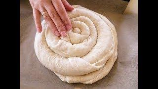 Смогут даже те кто никогда не пек хлеб Самый мягкий хлеб улитка с хрустящей корочкой