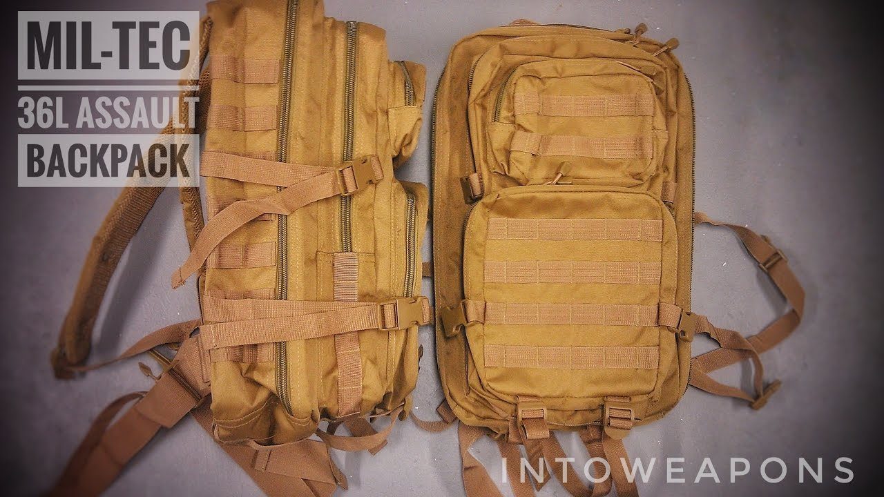 c6668629b778 Mil-Tec Molle Backpack 36L Review - YouTube