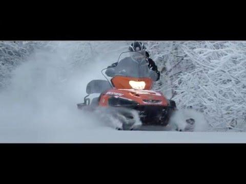 Тест-драйв снегохода Yamaha VK540V
