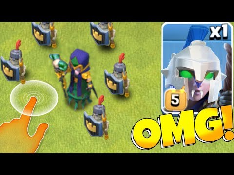 """Dark Witch + ARmoRed SkeleToNs!! """"Clash Of Clans"""" New Spell Update!"""