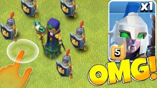 "Dark Witch + ARmoRed SkeleToNs!! ""Clash Of Clans"" New Spell Update!"