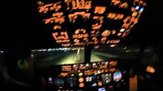 Boeing 737 вид из кабины пилота