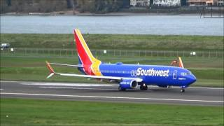 [HD] *HEART TWO* Southwest Boeing 737-800 [N8645A] Takeoff PDX | BFF S2,E57