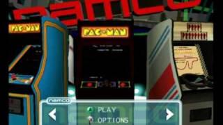 Namco Museum 50th anniversary (gamecube)