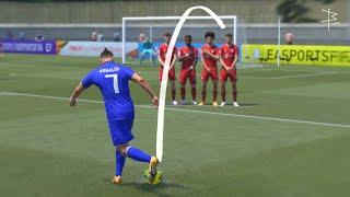 FIFA 21 - Rabona Free Kick Tutorial