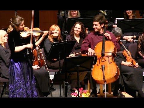 Sarah & Aaron Hall | Brahms - Double Concerto in A minor, Handel/Halvorsen - Passacaglia