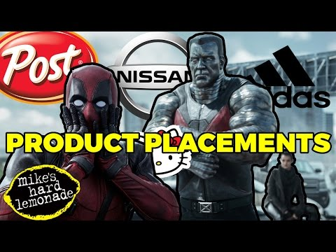 Deadpool: All The Product Placements (Quickie)