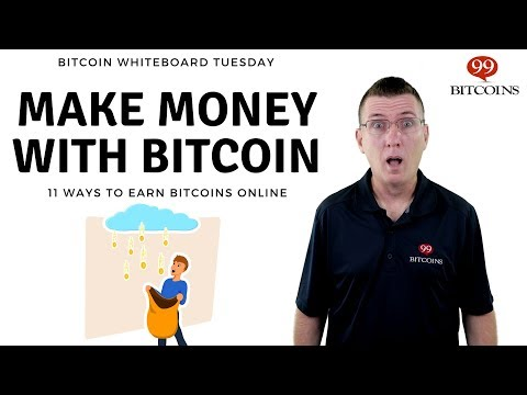 11 Ways To Earn Bitcoins \u0026 Make Money With Bitcoin (2021 Updated)