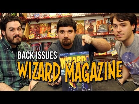 WIZARD MAGAZINE   Back Issues