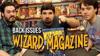 Wizard Magazine on Back Issues
